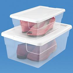 Cajas de pl stico para zapatos cajas de zapatos - Cajas transparentes para zapatos ...