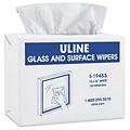 Uline Toallas Limpiadoras para Vidrios y Superficies