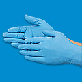 Ansell® TouchNTuff® Guantes Azules de Nitrilo