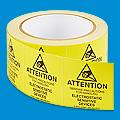 Etiquetas Adhesivas Antiestáticas